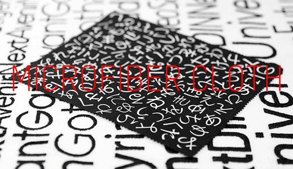 font-microfibercloth